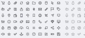 Pack 200 iconos free